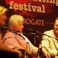 Chelsea with Val McDermid & Stuart MacBride